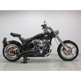 Harley-davidson - Softail Rocker C - 2010 Preta
