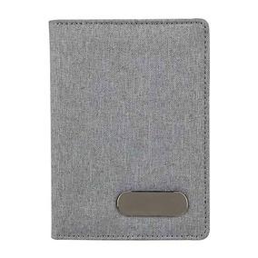 Porta Pasaporte Compacto Tarjetas Visa Identificación Oxford