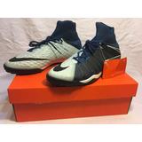 Zapatillas De Baby Fútbol Nike Hypervenom Phantom 3 Tf Blue