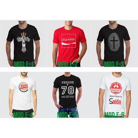 b38117e5b6 Camiseta Gospel - Camisetas Manga Curta no Mercado Livre Brasil