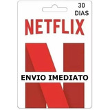 Cartão Pré-pago Conta Netlix Envio Imediato
