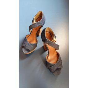 Sandália Via Uno Jeans 35