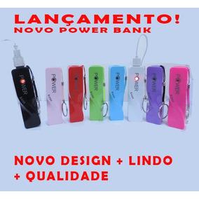 500 Peças De Carregadores Power Bank Com Seu Logo A 1 Cor
