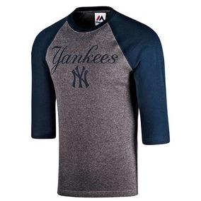 Playera Caballero Ny Yankees Baseball Tee Mffr183bnk Im19