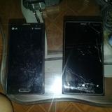 Combo Dos Telefonos Android Nokia Lumia 920 Y Lg Optimus