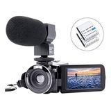 Videocámara Cámara De Vídeo Grabadora De Cámara Digital Haoh