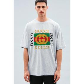 Camiseta Gucci Gang Trap Lil Pump Hype Streetwear Hip Hop 4d35683ac70
