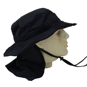 Kit 10 Chapéus Boonie Hat Tático Camuflado Em Poly Rip Stop