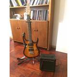 Guitarra Eléctrica Rockstar Más Amplificador