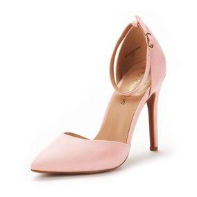 ad68f3dc6cb Dream Pairs Zapatos Fiesta Tacones 10cms Ante Varios Colores