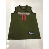 Camisa Nba Houston Rockets Oficial no Mercado Livre Brasil f7ae6d8e5a6cd