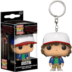 Chaveiro Stranger Things - Dustin - Pocket Pop!