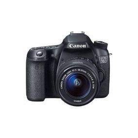 Canon - Eos 70d Dslr Con Lente 18-55mm Is Stm - Negro