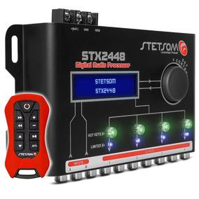 Processador De Audio Stetsom Equalizador Crossover Stx-2448