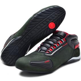 Tênis Motociclista Refletivo Cano Baixo 312 Atron Shoes*-*-*