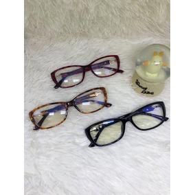 Armações De Óculos De Grau Moda 2019 Armacoes - Óculos Preto no ... 6e354779d7