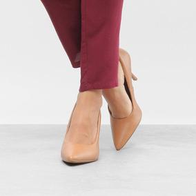 ef742b7f6b Sapato Scarpin Beira Rio Caramelo - Sapatos Amarelo no Mercado Livre ...