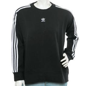 Buzo Crew Negro/blanco adidas Originals Tienda Oficial