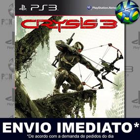 Ps3 Crysis 3 Jogo Play 3 Midia Digital
