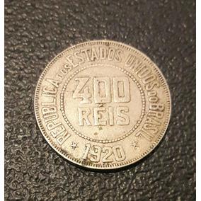 Moeda De 400 Reis 1920
