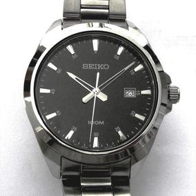 Relógio Seiko Clássico Masculino Caixa De Aço Sur209b1 P1sx