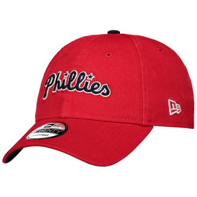c77a0c134b Boné New Era Mlb Philadelphia Phillies 920 St Vermelho