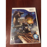 Monster Hunter 3 Wii