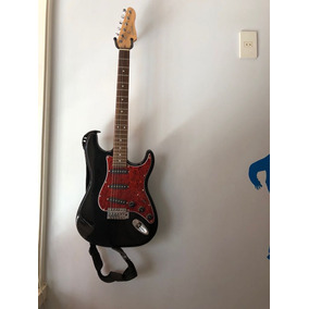 Guitarra Giannini Com Amplificador, Cabos, Pedal E Capa