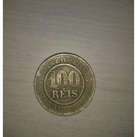 Moeda Antiga 100 Réis