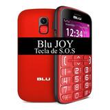 Celular Otimo Para Idoso Blu Joy - Com 2 Chip - Tela Grande