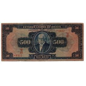 Cd0157 - R160 - 500 Mil Réis - Série 23 - Rara