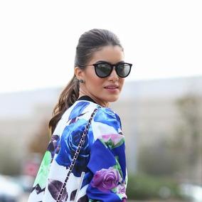 Óculos De Sol Feminino Masculino Erika Veludo Lente Degradê a53031f331