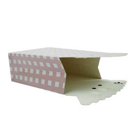 Pacote Caixinha De Papel Laço Rosa