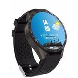 Relógio Com Monitor Cardiaco Para Smartphone Ios Ou Android