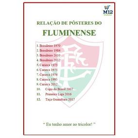Kit 10 Pôsteres Do Fluminense Com Frete Grátis, Compre Já!