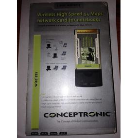 Pcmcia Wifi 54 Mbps Notebook Com Driver