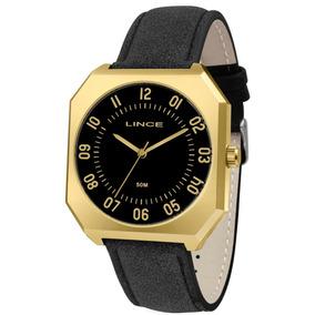 c3b517bc2e7 Relógio Masculino Dourado - Relógio Lince Masculino no Mercado Livre ...