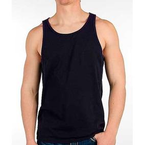 Camiseta Regata Preta Lisa - Camisetas Regatas no Mercado Livre Brasil 44d00a2e1f3
