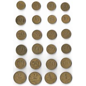 Moedas Antigas Brasil Numismática: 24 Diferentes Bronze Alum