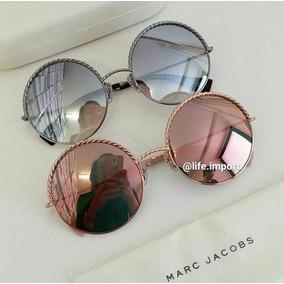 23a430be7c77f Oculos Feminino Espelhado - Óculos De Sol Marc Jacobs no Mercado ...