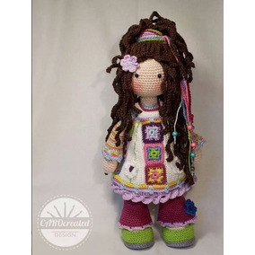 2 Patrones Muñeca Amigurumis Para Tejer Crochet