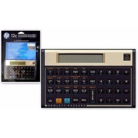 Calculadora Financeira Hp 12c Gold Português Original