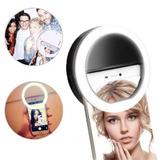 Selfie Ring Light Fotos Recargable Para Celular Anillo Led