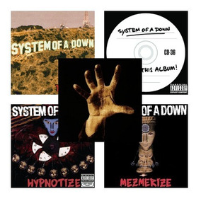 System Of A Down Lote Lps Steal Toxicity Hypnotize Mesmerize