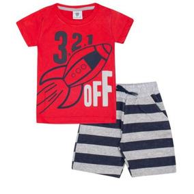 Shorts Infantil Masculino De Malha - Calçados d8bb9b16e20