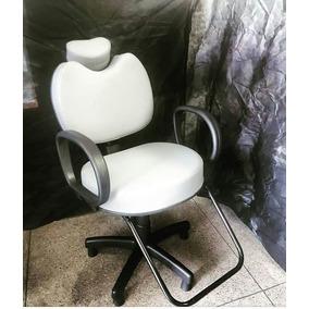 Cadeira Reclinavel Maquiador Todas Cores