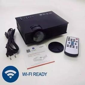 Projetor Uc46 Hdmi, Wi-fi Nova Versão 2 Saídas Áudios