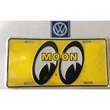 Moon Placa Decorativa Amarilla
