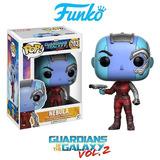 Funko Pop Nebula Guardianes De La Galaxia 203 Marvel