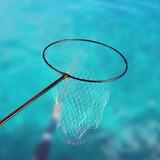 Red De Aterrizaje De Pesca Para Bote Ligera Telescópica 2 U